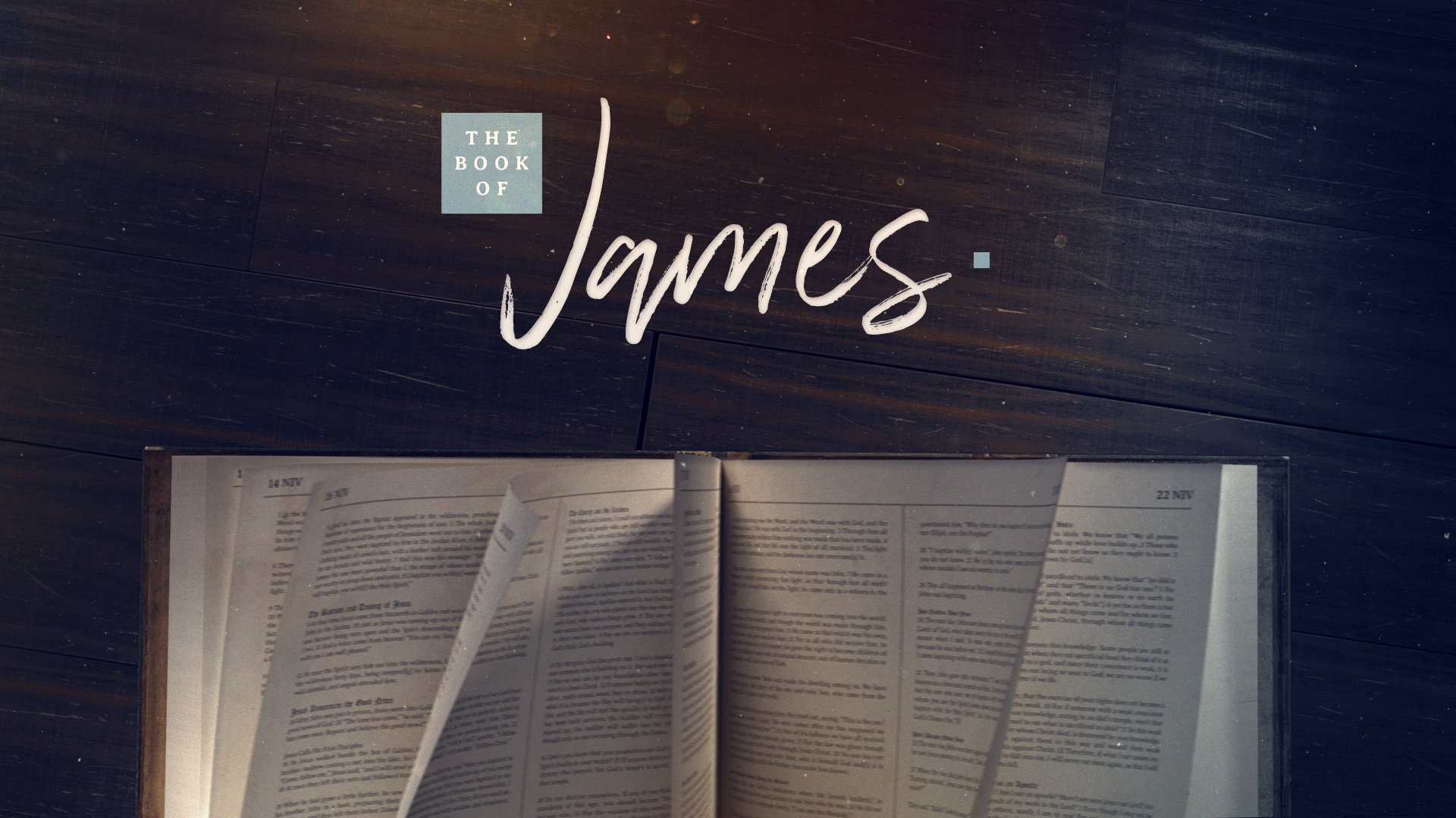 The Book of James (Week 5)